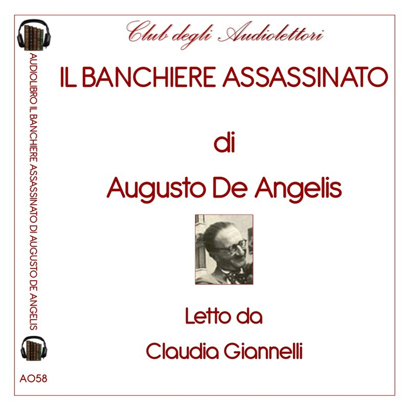 Copertina Audiolibro in download de Il banchiere assassinato