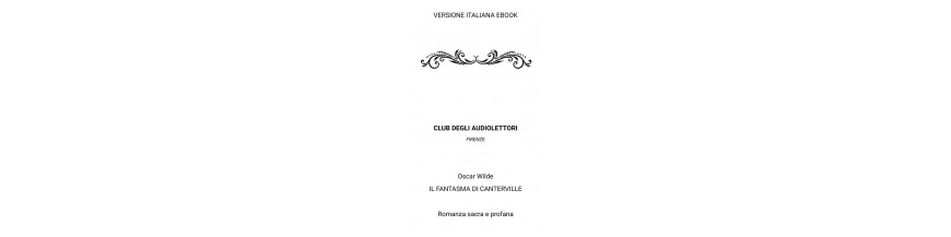 Ebook del Club degli Audiolettori